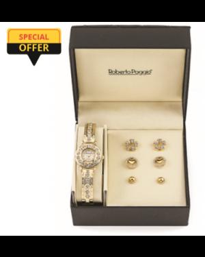 Roberto Paggio Ladies Watch And Jewellery Set