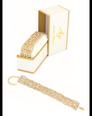 Andre Piasso Crystal Bracelet