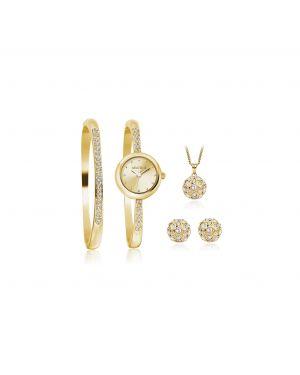 Montine Ladies Watch, Bangle, Pendant & Earring Set